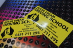 Custom Aussie Dream Driving School Business Car Magnets