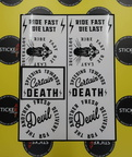 Custom Vinyl Cut Ride Fast Die Fast Southside Decals