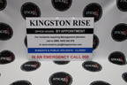 Custom Signage Kingston Rise Office Sign