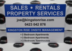 Custom Signage Kingston Rise Sales Rentals Property Services Large Sign