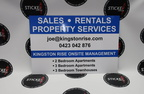Custom Signage Kingston Rise Sales Rentals Property Services Small Sign