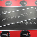 Custom Printed Matte Laminated Patmos Projects Vinyl Business Stickers