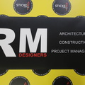 Custom Printed RM Designers Business Magnets