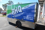 20180712 Custom Print and Vinyl Cut RHQ Vehicle Trailer Wrap Left Angle