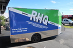 Custom Print and Vinyl Cut RHQ Vehicle Trailer Wrap Right