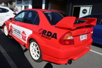 Custom RDA Brakes Sakura Filters Australia Vehicle Business Signage Graphics Side Angle