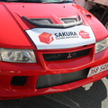 Custom Lees Spare Parts Sakura Filters Australia Vehicle Business Signage Graphics Front