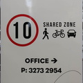 Custom Printed Contour Cut Sunnybank Hills Caravan Park Traffic Conditions Vinyl Business Stickers