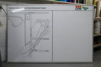 Custom Printed CPB Contractors Western Sydney Airport Earthworks Project Business Whiteboard.
