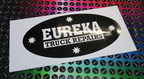 Custom Printed Contour Cut Eureka Truck Repairs Vinyl Business Stickers