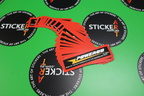 Custom Printed Contour Cut Die-Cut Powerod Vinyl Business Stickers