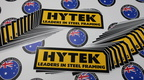 Custom Printed Contour Cut Die-Cut HYTEK Business Stickers Sheets