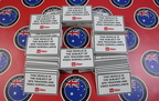 Custom Printed Contour Cut Die-Cut Australia Post GPS Tracking Business Stickers