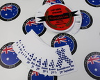 Custom Printed Contour Cut Die Cut Remembrance Day Business Stickers