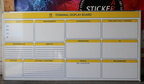 Custom Printed Graincorp Terminal Display Board Business Whiteboard