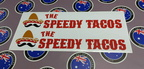 Custom Printed Contour Cut Vinyl The Speedy Tacos Business Stickers