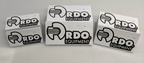 Bulk Custom Printed Contour Cut Die Cut RDO Equipment Vinyl Business Logo Stickers
