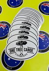 Custom Printed Contour Cut Die-Cut One Tree Canoe Company Vinyl Business Stickers