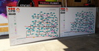 Custom Printed CPB Contractors Vehicle Management Plan Business Map Whiteboard