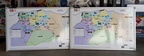 Custom Printed CPB Contractors Vehicle Management Plan Zone Map Small Business Whiteboard