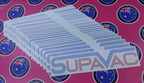 Custom Printed Clear Layered Vinyl Cut Reflective Supavac Vinyl Business Logo Stickers