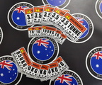 Catalogue Printed Contour Cut Die-Cut Maximum Rated Capacity Vinyl Business Stickers