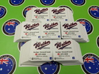 Bulk Custom Printed Matte Laminated Contour Cut Die-Cut MJ Walker Plumbing Vinyl Business Stickers.