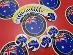 Bulk Custom Printed Contour Cut Die-Cut Australia Outback Tours Vinyl Business Logo Stickers