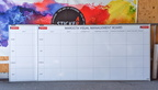 Custom Printed Dry Erase Laminated Maroota Visual Management Board Business Whiteboard