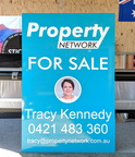 Custom Printed ACM Property Network For Sale Business Signage.