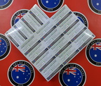 Bulk Custom Printed Contour Cut Die-Cut Western Australia Visitor Centre Vinyl Business Sticker Sheets