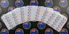 Bulk Custom Printed Contour Cut Die-Cut Civil Pipes Model Number Vinyl Business Sticker Sheets