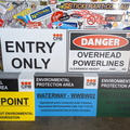 Custom Printed CPB Environmental Protection Danger Corflute Business Signage