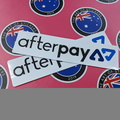 Catalogue Printed Contour Cut Die-Cut Afterpay Vinyl Business Logo Stickers