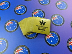 Bulk Custom Printed Contour Cut Die-Cut Hemp Organic CBD Oil Vinyl Business Merchandise Stickers