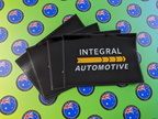Custom Printed Contour Cut Die-Cut Integral Automotive Vinyl Business Logo Sticker