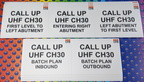 Custom Printed CPB Contractors Call Up UHF 30 Corflute Business Signage