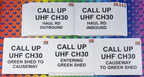 Custom Printed CPB Contractors Various Call Up UHF 30 Corflute Business Signage