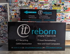 Custom Printed It Reborn ACM Business Signage