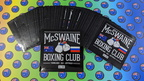 Bulk Custom Printed Contour Cut Die-Cut McSwaine Boxing Club Vinyl Business Logo Stickers