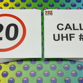 Custom Printed 20km Speed Call Up Uhf# Corflute Business Signage