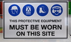 Custom Printed Protective Equipment ACM Business Signage