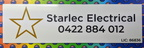 Custom Printed Starlec Electrical ACM Business Logo Signage