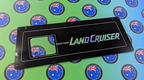 Custom Printed Land Cruise Rear Tank Acrylic Business Signage