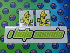 Catalogue Printed Contour Cut Die-Cut Banana I Hate Sounds Vinyl Stickers